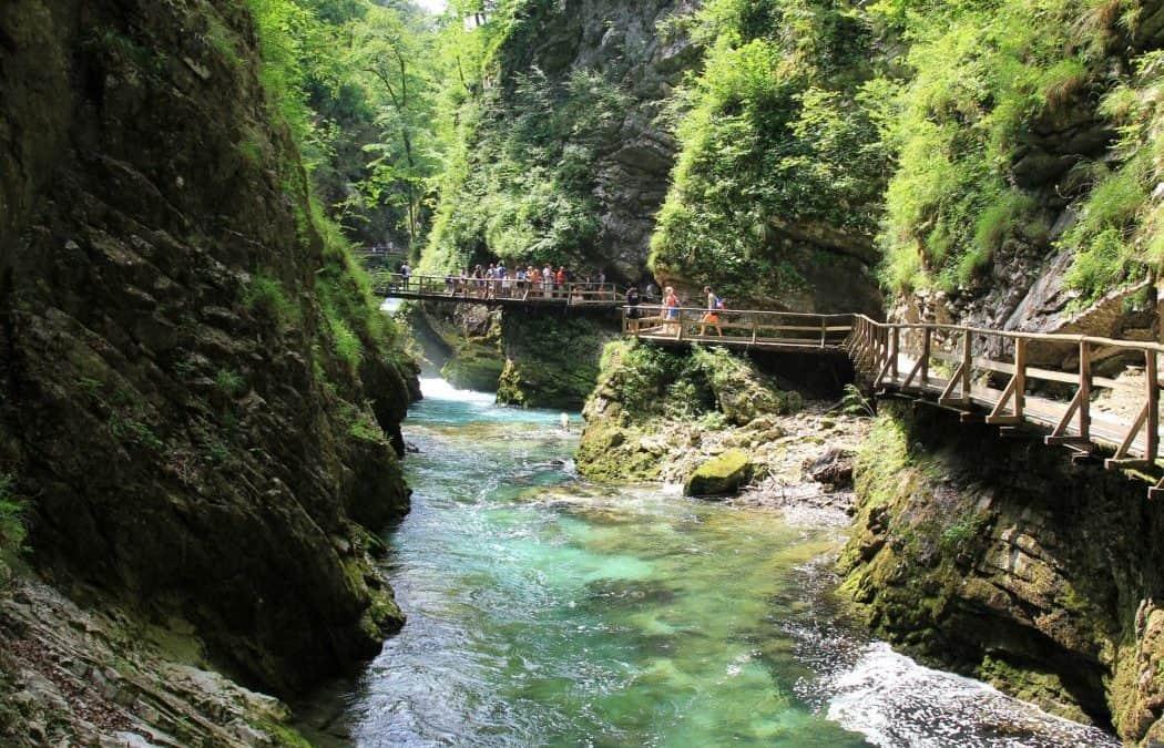 Passeio pelo espetacular Desfiladeiro de Vintgar – Lago Bled, Eslovénia