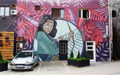 Arte urbana em Belgrado