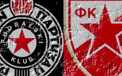 Dérbi Eterno entre Estrela Vermelha e Partizan de Belgrado, uma das rivalidades mais ferozes da Europa