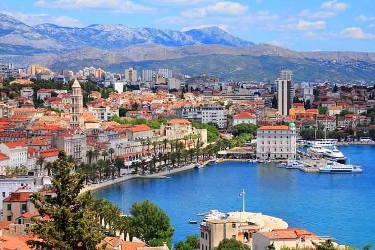 O que ver em Split, a principal cidade da costa da Croácia