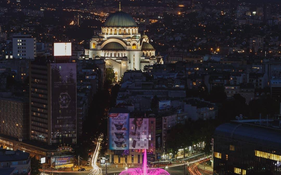 Belgrado ao detalhe: o bairro de Vracar