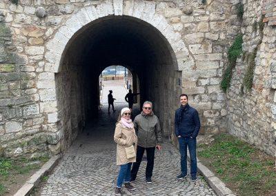 Passeio a pé por Belgrado, Sérvia