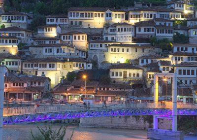 A cidade de Berat na Albânia é Património Mundial da Humanidade