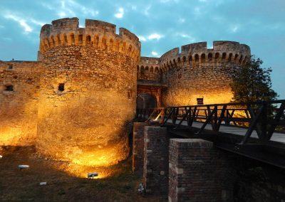 Entrada na Fortaleza de Kalemegdan em Belgrado, Sérvia
