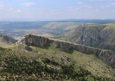 Paisagem na Bósnia e Herzegovina