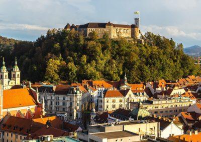 Ljubljana, a capital da Eslovénia