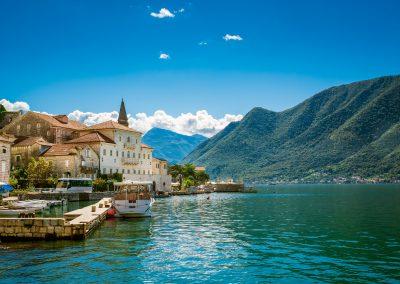 Vila de Perast, Baía de Kotor, Montenegro