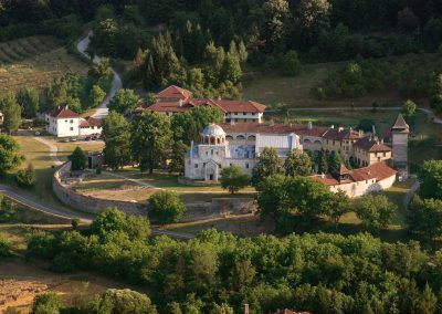 O Mosteiro de Studenica na Sérvia