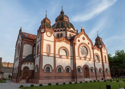 Sinagoga de Subotica no norte da Sérvia. Terceira maior do mundo.