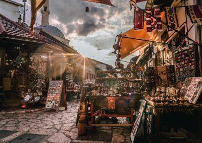 Bazar turco de Sarajevo