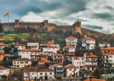 Castelo de Ohrid, Macedónia
