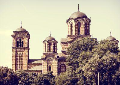 Igreja de São Marco em Belgrado, Sérvia