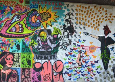 Grafiti em Belgrado, Sérvia