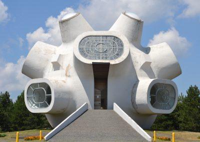 Monumento comemorativo jugoslavo na Macedónia