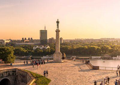 Fortaleza de Kalemegdan em Belgrado, Sérvia