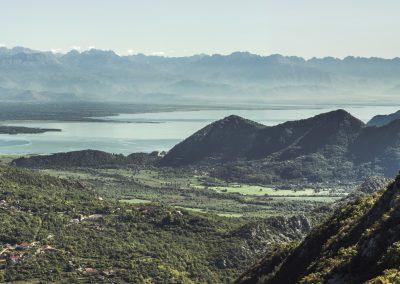 Lago Skadar no Montenegro