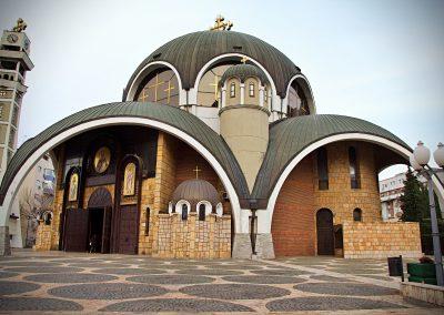 Igreja ortodoxa em Skopje, Macedónia do Norte