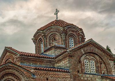 Detalhe da Igreja de Santa Maria de Peribletos, Lago Ohrid, Macedónia