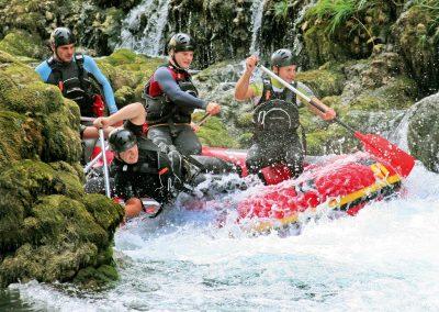 Rafting na Bósnia e Herzegovina
