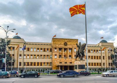 Parlamento macedónio em Skopje