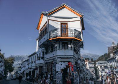 O bazar de Gjirokaster - Património da Humanidade na Albânia