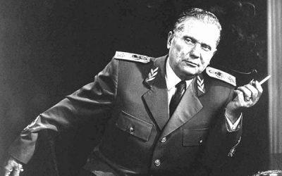 40º aniversário da morte do Marechal Tito, o antigo Presidente da Jugoslávia