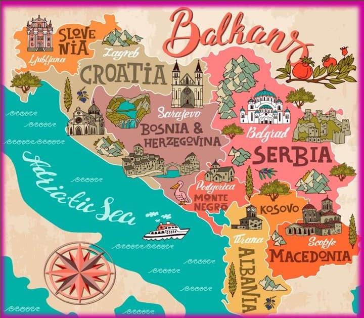 Top 10 dos locais a visitar nos Balcãs Ocidentais