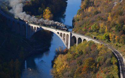 As mais fascinantes viagens de comboio/trem dos Balcãs!